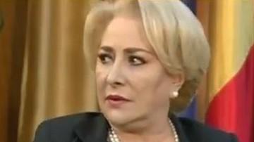 Viorica Dăncilă s-a ales cu coarne la Buzău. Scandal monstru în campania electorală