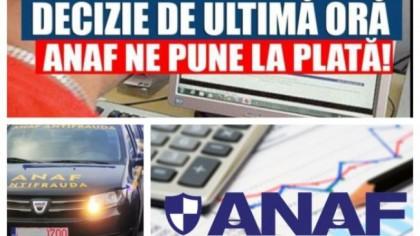 Milioane de români, în alertă! Anunțul ANAF! Cum poţi rămâne fără bani în cont